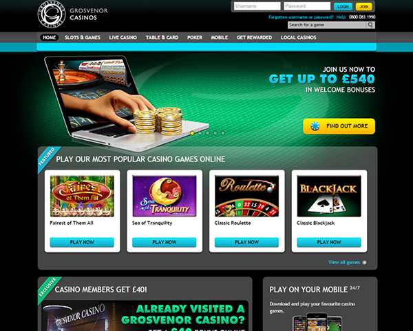 Online Slots Games Grosvenor Casinos
