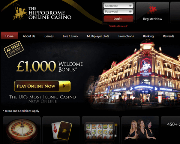 Hippodrome Screenshot