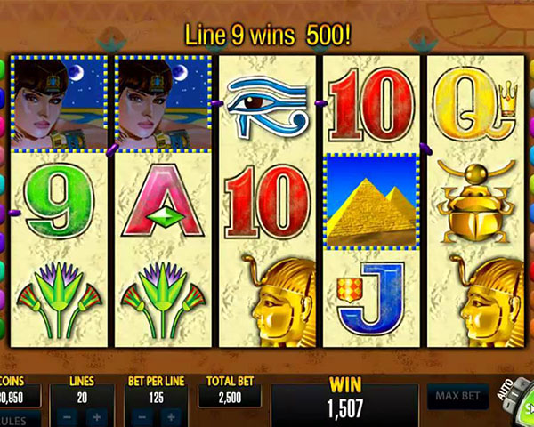 Queen Of The Nile screenshot