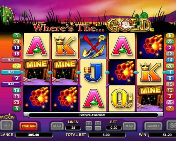 Free Slot Wheres The Gold