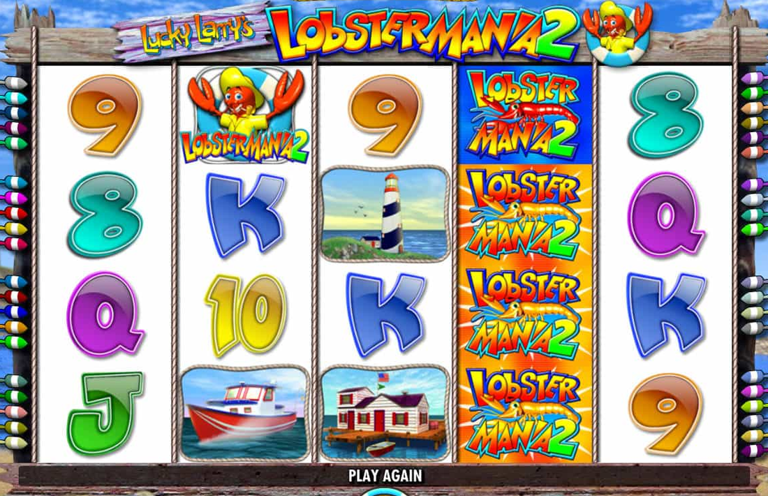 Lobstermania 2 Review The Best Online Slot Reviews