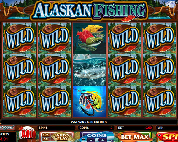Alaskan Fishing screenshot
