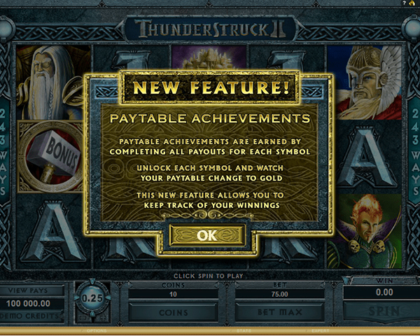 Thunderstruck II screenshot