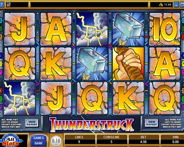 Thunderstruck slot game online super casino decision