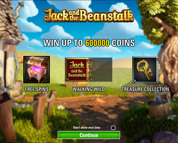 Jack and The Beanstalk screenshot