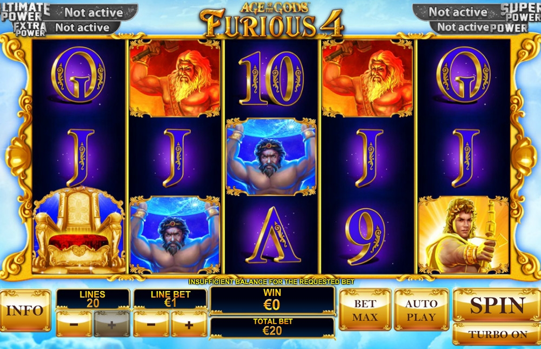 Age of the Gods: Furious 4