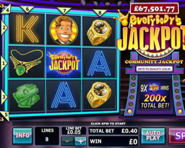 Everybody's Jackpot screenshot