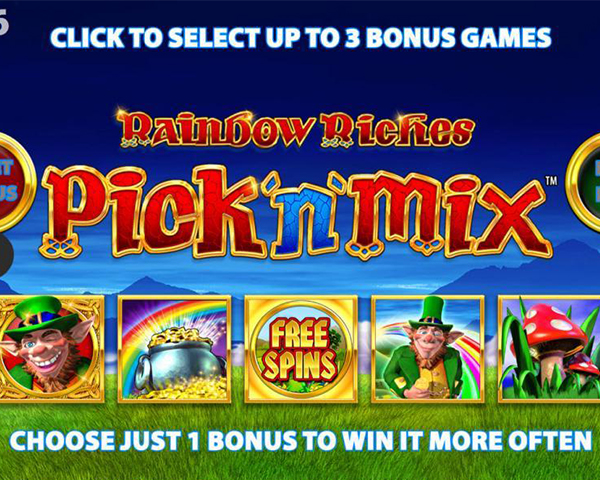 Rainbow Riches Pick'n'Mix screenshot